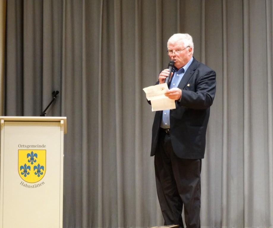Sportkreisvorsitzender Rhein-Lahn Werner Hölzer
